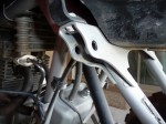 Honda 400EX Upper Shock Mount